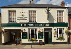 The Prince Albert public house stock photography