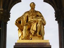 Prince Albert of Saxe-Coburg and Gotha monument. Stock Image