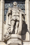 Prince Albert Sculpture on the Victoria & Albert Museum Royalty Free Stock Photo