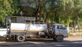 Municipal services small town living South Africa royalty free stock photos