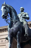 Prince Albert Statue Outside St. Hall de George à Liverpool Image stock