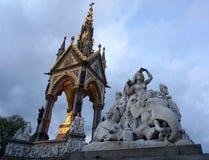 Prince Albert statue Stock Photo