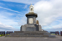 Prince Albert statue Tenby Wales Stock Photos
