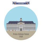Prince-Bishops Palace, Liege, Belgium Royalty Free Stock Photo