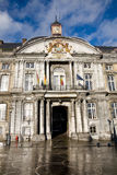 Prince-Biskop slott, Liege, Belgien Arkivbilder