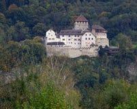 Prince Castle in Vaduz Stock Photography