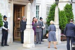 Prince Charles & Camilla Stock Images