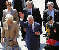 Prince Charles Waves Saint John Royalty Free Stock Image