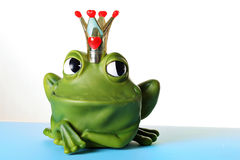 Prince charming. Shot of prince charming frog Stock Images