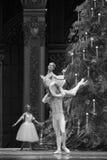 The prince Clara hold up-The Ballet  Nutcracker Stock Photo
