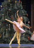 The prince and Clara very happy-In the Christmas Tree-Tableau 3-The Ballet  Nutcracker Stock Photography