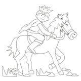 Prince-coloring Stock Photos