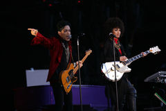 PRINCE IN CONCERT Image stock