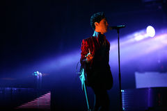 PRINCE IN CONCERT Stock Photography