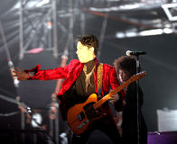 PRINCE IN CONCERT Royalty Free Stock Images