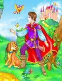 Prince de conte de fées illustration stock