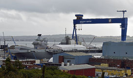Prince de Galles de porte-avions Photos stock