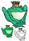 Prince de grenouille Photos stock