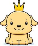Prince de sourire Puppy de bande dessinée Photos stock
