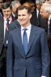 Prince Don Felipe de Borbón Royalty Free Stock Image
