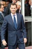 Prince Don Felipe de Borbón Royalty Free Stock Photo