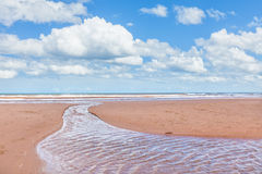 Prince Edward Island Beach Stock Photo