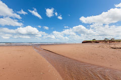 Prince Edward Island Beach Stock Image