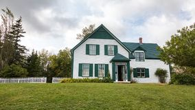 Exterior of the Green Gables house Stock Image