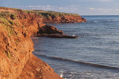 Prince Edward Island Cliffs Stock Images