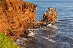 Prince Edward Island Cliffs Stock Photography