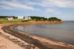 Prince Edward Island coastline Stock Image
