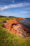 Prince Edward Island coastline Royalty Free Stock Photography