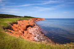Prince Edward Island coastline Royalty Free Stock Photos