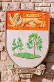 Prince Edward Island coat of Arms Royalty Free Stock Photo