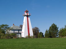 Prince Edward Island Lighthouse Stock Photo