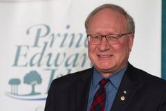 Prince Edward Island premier Royalty Free Stock Image