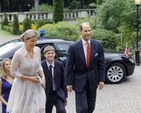 Prince Edward and Sophie, Countess of Wessex Royalty Free Stock Images