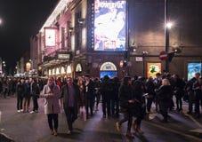 Prince Edward Theatre playing Miss Saigon in Soho London UK Stock Images
