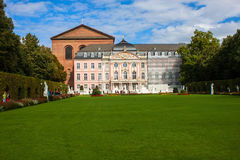 The prince electors palace and the roman basillica in Trier Royalty Free Stock Image