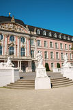 Prince-electors Palace in Trier. South wing of Prince-electors Palace in Trier, Germany. It was built in rococo style from 1756 by architect Johannes Seiz and Royalty Free Stock Photo