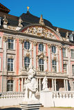 Prince-electors Palace in Trier, Germany. South wing of Prince-electors Palace in Trier, Germany. It was built in rococo style from 1756 by architect Johannes Royalty Free Stock Images