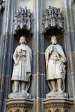 Prince Emeric and King Steven of Hungary, Kosice, Slovakia Royalty Free Stock Images