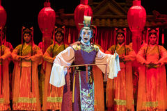 "He prince-The emperor's wedding-Jiangxi opera ""Red pearl"" Stock Image"