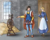 Prince et fille - contes de fées