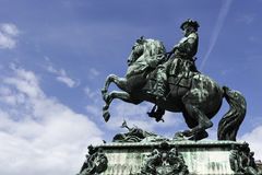 Prince Eugene of Savoy statue, Vienna Royalty Free Stock Photography