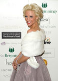 Prince, Faye Tozer. Faye Tozer arriving for The Prince's Valentines Ball in aid of the Prince's Trust at the May Fair Hotel in London. 14/02/2012 Picture by stock photo