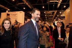 Prince felipe de borbon y princess leticia Stock Photos