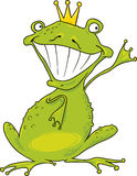 Prince frog Stock Images