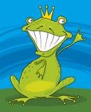 Prince frog Stock Photo