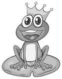 Prince frog Royalty Free Stock Photos